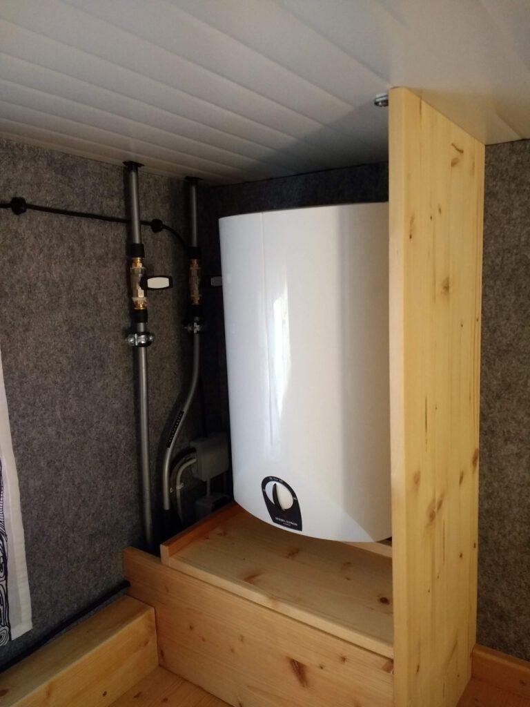 Boiler für die Dusche